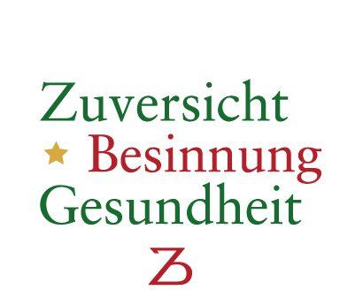 Weihnachtskarte von ZinnBöcker 2020